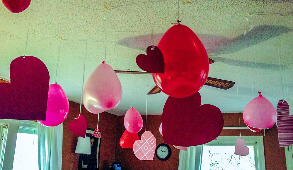 Valentines party decorations