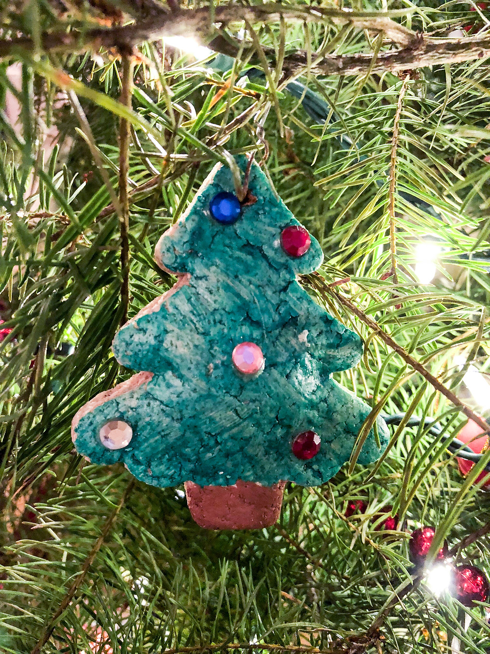 homemade salt dough ornament