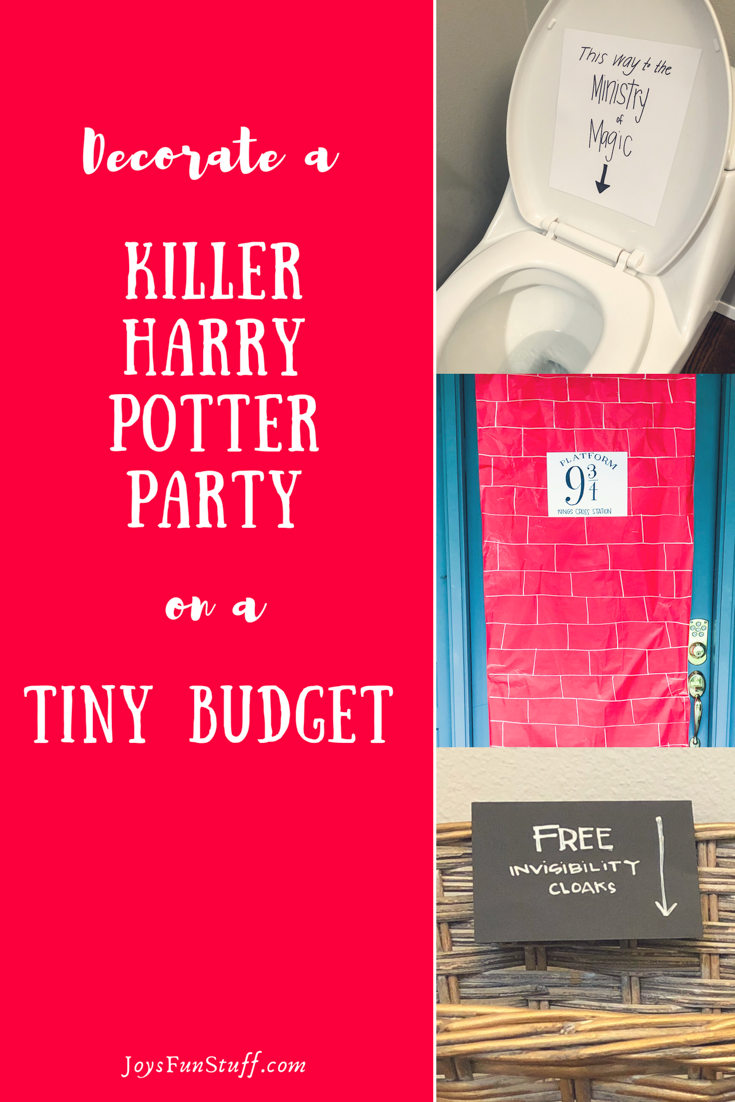 small budget party ideas