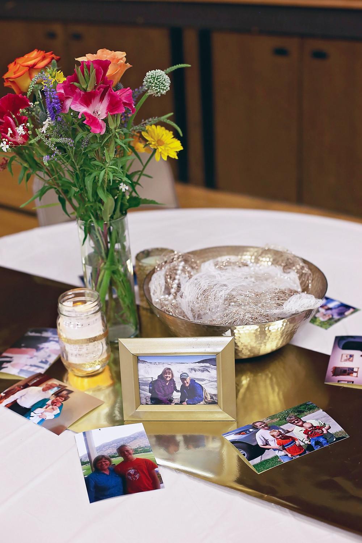 table centerpiece cheap with photos