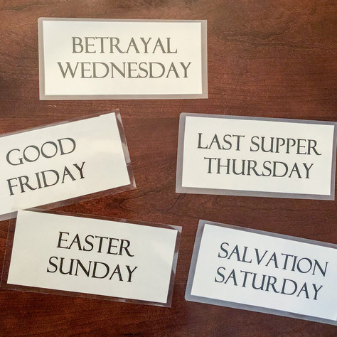 The Holy Week Easy Ideas