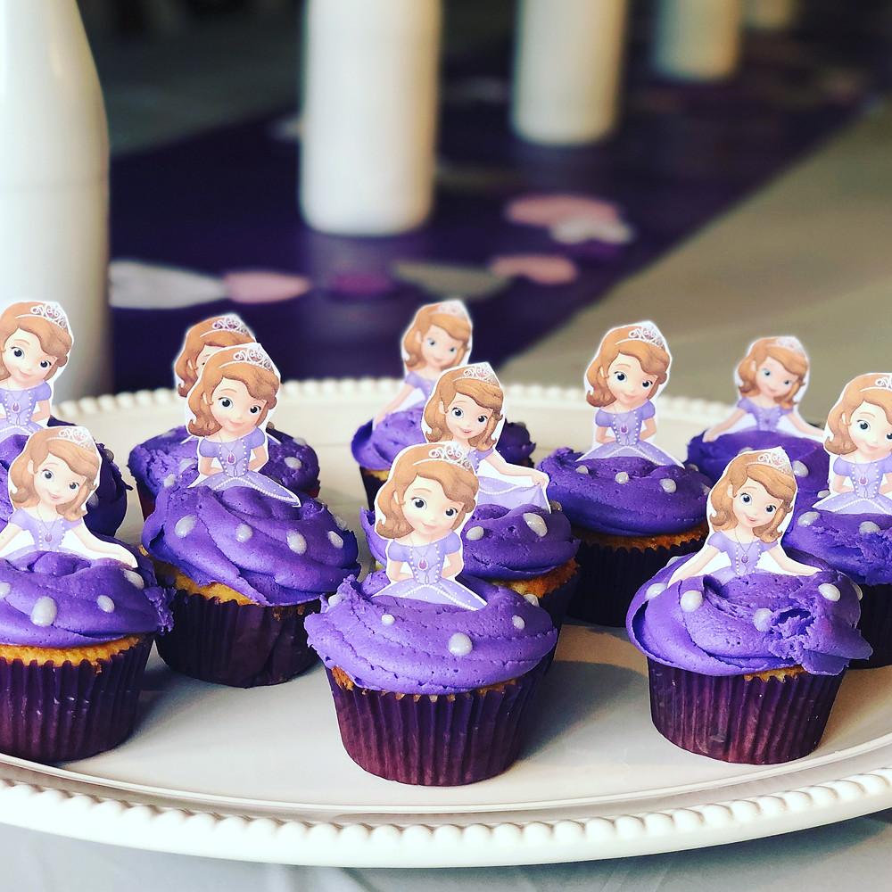 cupcake birthday party idea