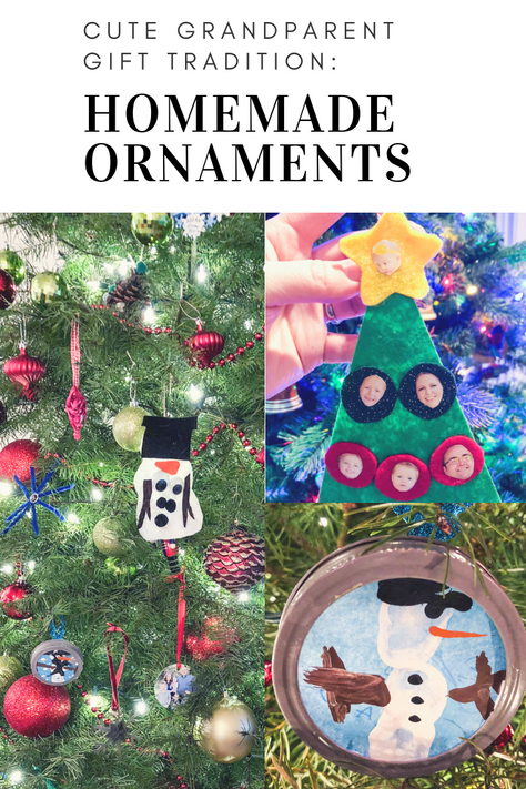 Homemade Ornaments with the Kids: Perfect Gift for Grandparents