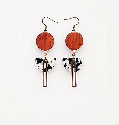 Middle Child - Alvar Earrings Black