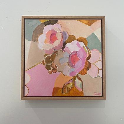 "Framed Canvas Print - ""Rainbow Lane"" by Jade Fisher"