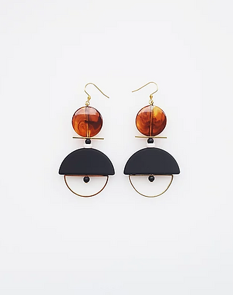 Middle Child - Diego Earrings Black