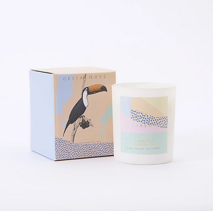 Celia Loves - Japanese Honeysuckle 40hr Candle