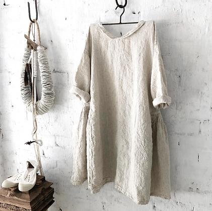Megby Design - Audrey Linen Dress Natural