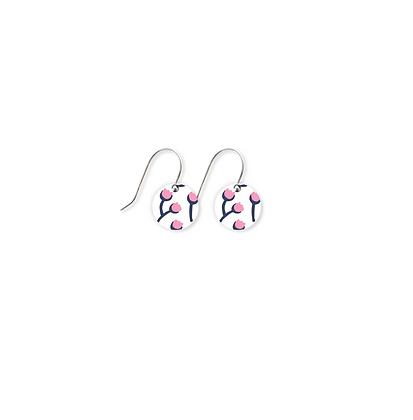 Moe Moe Design - Tulip Helsinki Small Circle Drop Earrings