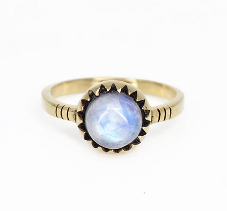 Toni May - Like a Sunflower Gold Ring
