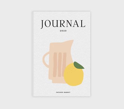 Father Rabbit - Lemon & Jug 2020 Diary