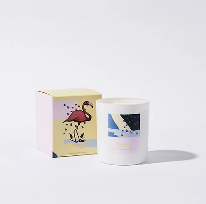 Celia Loves - Strawberry Champagne 80hr Candle