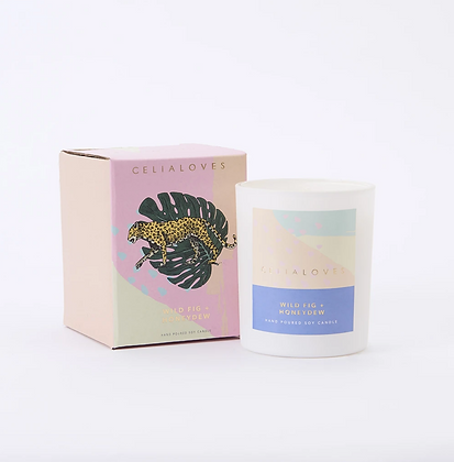 Celia Loves - Wild Fig + Honeydew 40hr Candle