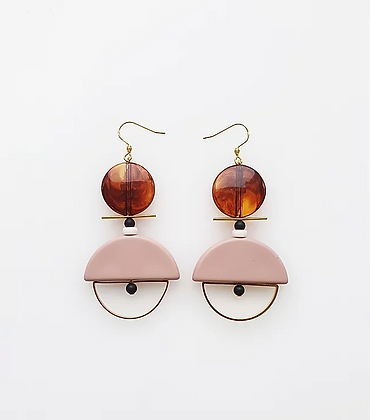 Middle Child - Diego Earrings Pink
