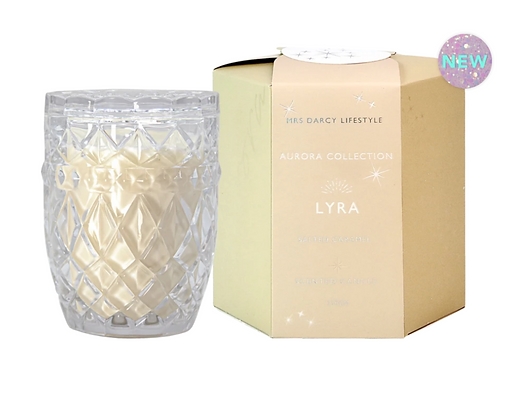 Mrs Darcy - Aurora Lyra Soy Candle - Salted Caramel