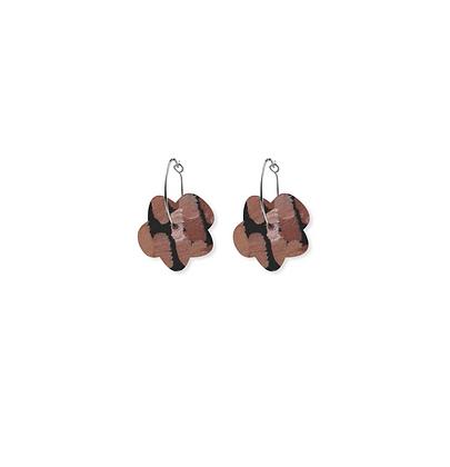 Moe Moe Design - Storylines Miimi and Jiinda Small Flower Hoop Earrings