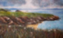 Lamndscape painting Pembrokeshire