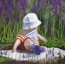 Baby in the bluebells sm.jpg