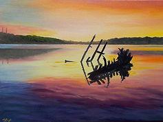 Nov Sunset Hooe Lake sm.jpg