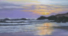 Landscape painting Cornwall