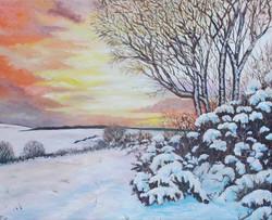 Snowy Dartmoor sm