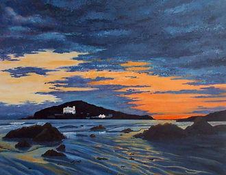 Evening Burgh Island sm.jpg