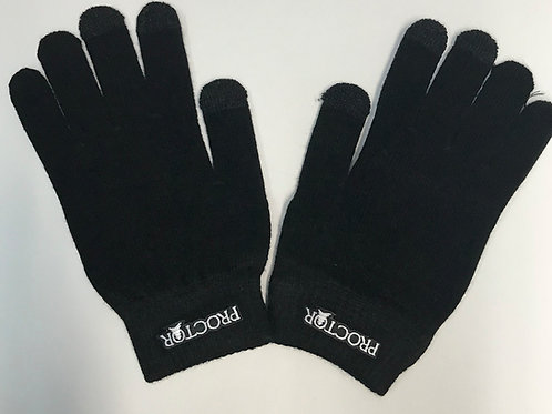 Proctor 3 finger activation text gloves