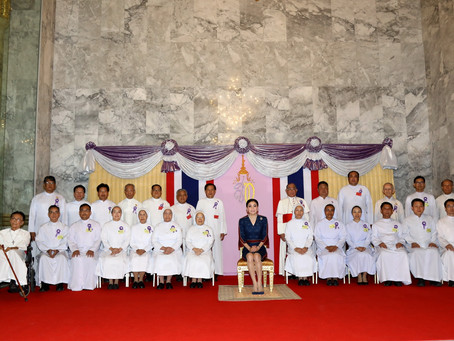 H.M. the Queen Presides over Assumption University's 50th Anniversary Grand Celebration
