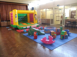 Bouncy castle hire in Neath.