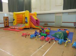 Bouncy castle hire in Llanelli.
