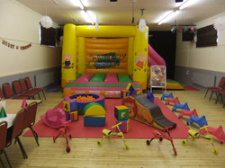 Bouncy castle hire in Cross Hands.