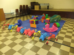 Soft play hire in Llanelli.