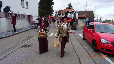 Umzug Oetwil am See 03.02.2018