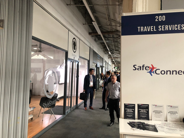SafeConnect showcased its latest innovations at Aviation Festival London