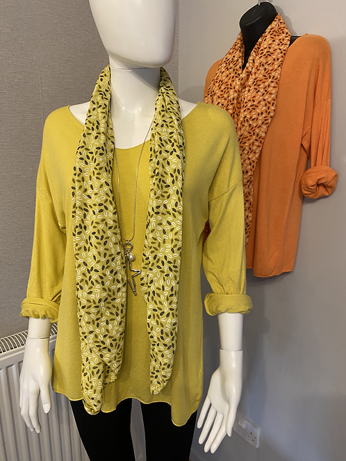 Monica Jumper and Scarf