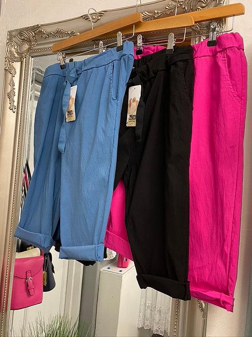 Jo Magic Shorts / Cropped Trousers - Plain
