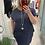 Thumbnail: Cotton Sparkle Shoulder Dress