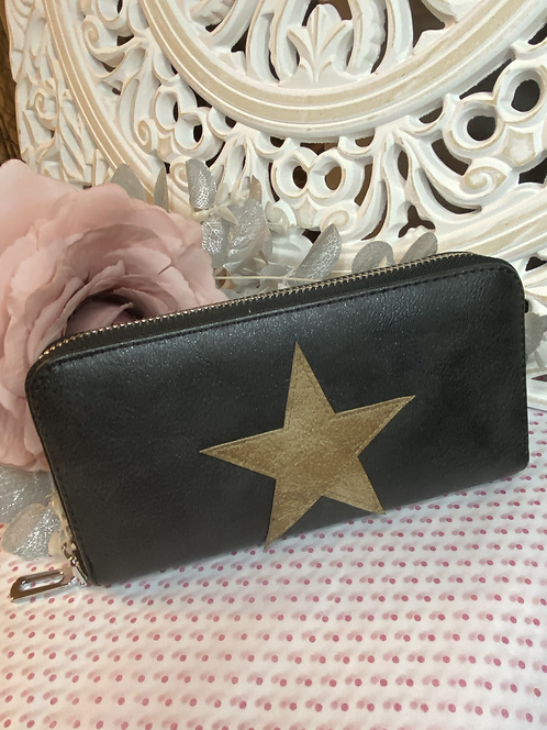 Star Zipped Purse / Wallet
