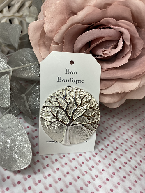 Tree of Life Magnetic Scarf Pendant / Brooch