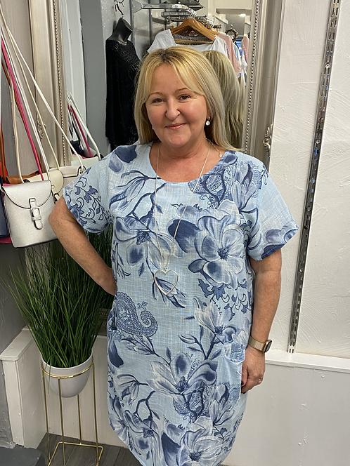 Hattie Cotton Floral Dress