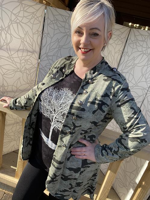 Bethany Military Jacket