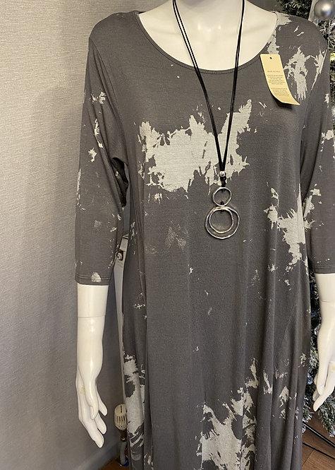 Martina Marble Parachute Jersey Dress