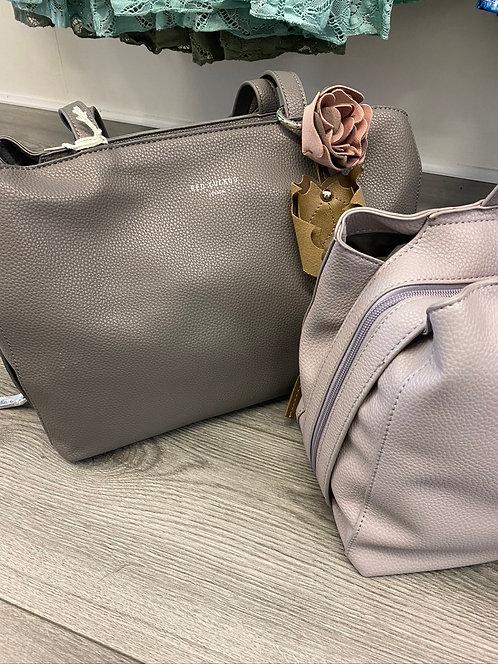 Liz Faux Leather Handbag