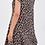 Thumbnail: Animal Print Cotton Layered Dress
