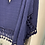Thumbnail: Cheesecloth Tassel Poncho Top