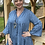 Thumbnail: Melissa Animal Print Denim Tunic Dress
