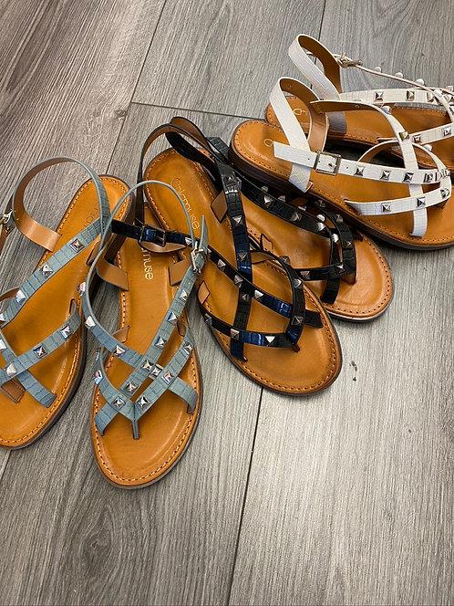 Studded Designer Inspired Sandals