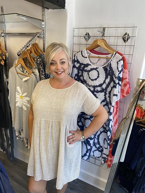 Samara Cotton Tunic Dress