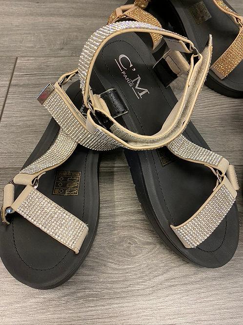 Platform Sandal Silver