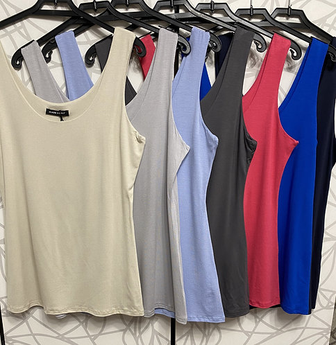 Marlena Double Layer Vest Top